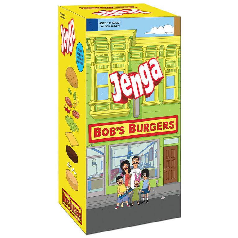 JENGA: Bob's Burgers Edition