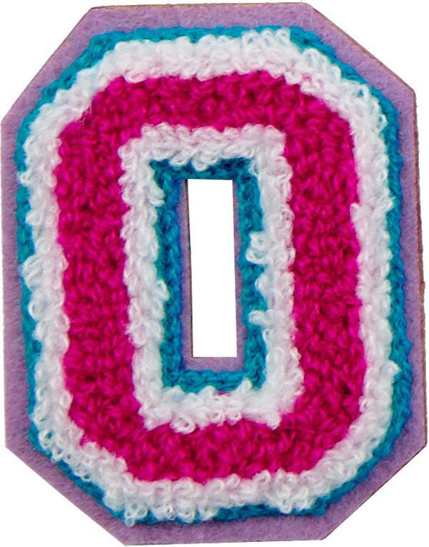 Patchs: lettres décoratifs - Lettre O