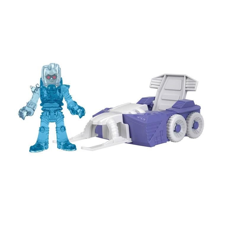 Fisher-Price - Imaginext - DC Super Friends - Slammers - Motoneige arctique et figurine mystère