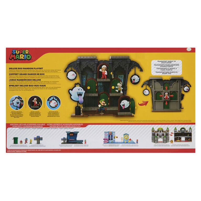 Super Mario DLX Boo Mansion Playset