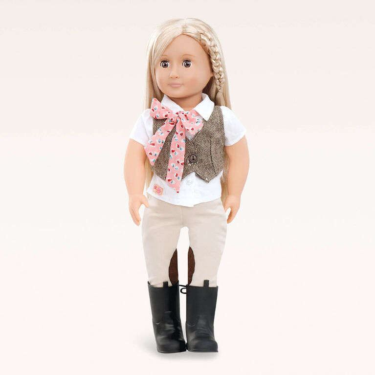 Our Generation, Leah, 18-inch Equestrian Doll