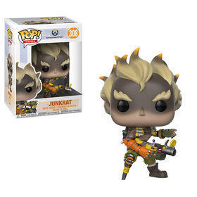 Funko Pop! Games: Overwatch - Junkrat Vinyl Figure