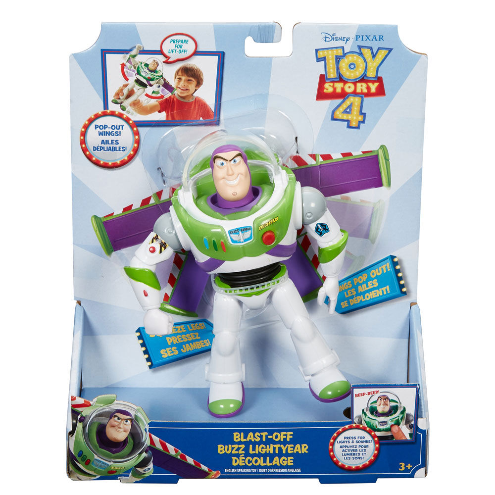 Disney Toy Story 4 Buzz Lightyear 7 Inch Action Figure NEW