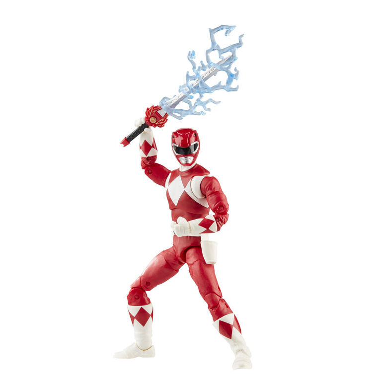 Power Rangers: 6-Inch Lightning Collection Collectible Red Ranger