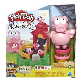 Play-Doh - Animal Crew Pigsley and her Splashin' Pigs Farm Animal Playset