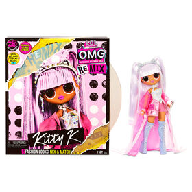 L.O.L. Surprise! O.M.G. Remix Kitty K Fashion Doll – 25 Surprises with Music - PRE-ORDER, SHIPS SEPT 25, 2020