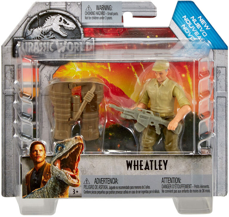 Jurassic World Wheatly Figure