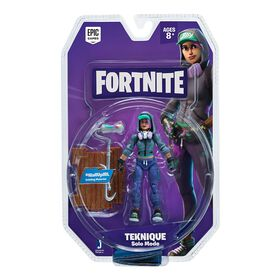 Fortnite Solo Mode Figure Teknique 1 Figure Pack.