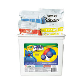 Crayola - Model Magic Bucket, Assorted 2lb