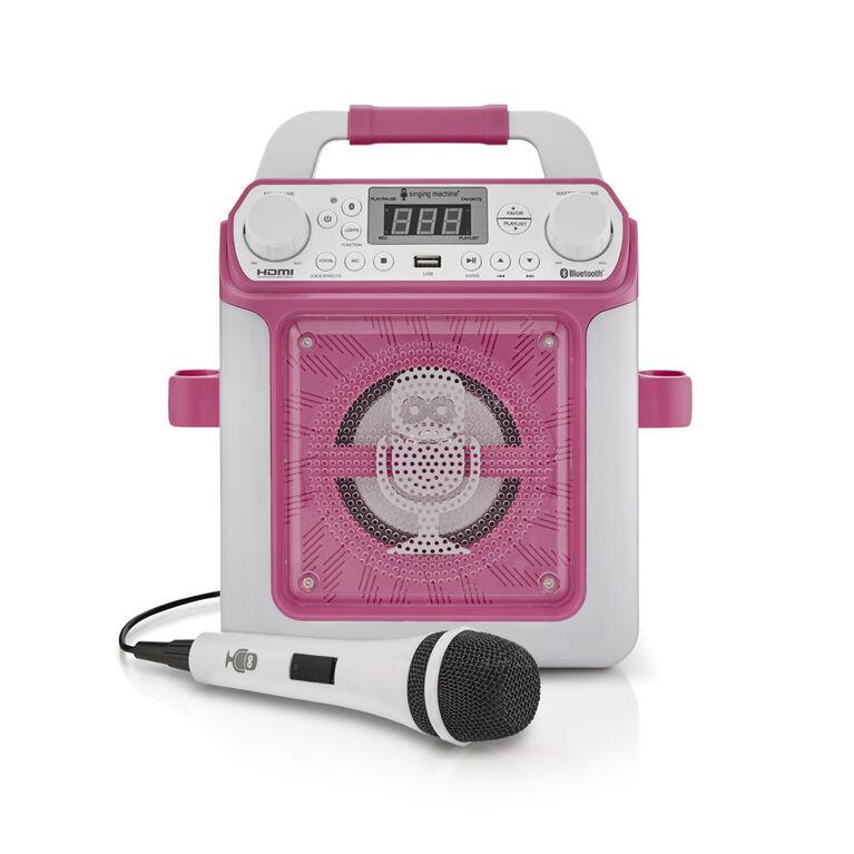 Singing Machine - Groove Mini - Rose