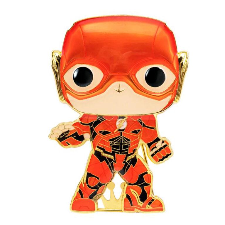 Badge émaillé Flash par Funko Pop! Justice League