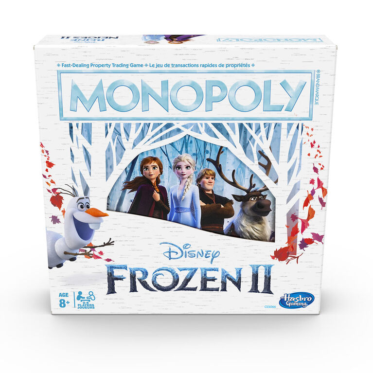 Monopoly Game: Disney Frozen II Edition