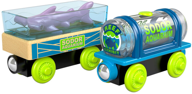 Thomas et ses amis - Bois - Wagons Aquariums
