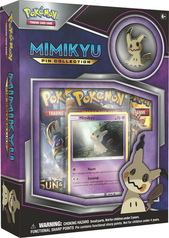 Coffret de collection Pokémon avec épinglette de Mimiqui
