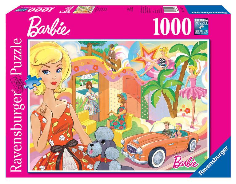 MB 100 pc Barbie Puzzle