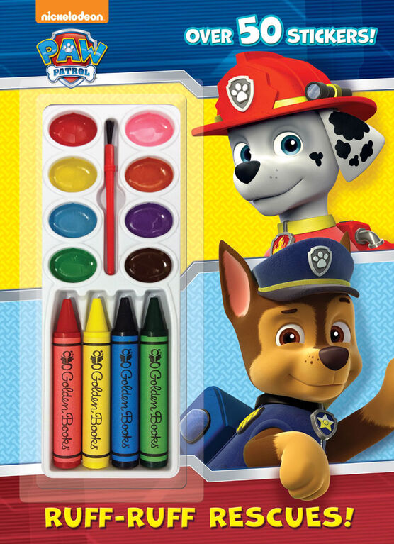 Ruff-Ruff Rescues! (Paw Patrol) - Édition anglaise