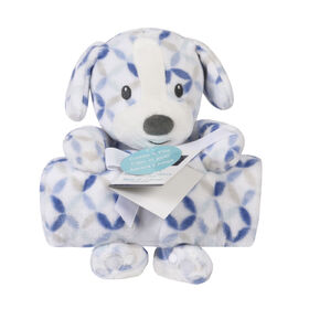 Baby's First By Nemcor 2 Piece Set- Cuddle And Play Puppy