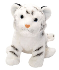 Wild Republic Cuddlekin Tigre blanc 12