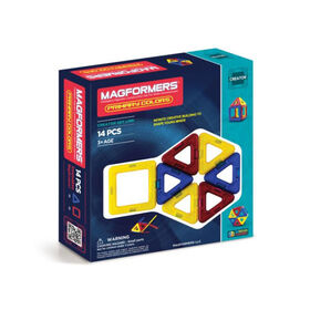 Magformers Primary Color 14 Pieces - English Edition