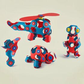 Clixo Crew Pack - Flamingo/Turquoise - English Edition
