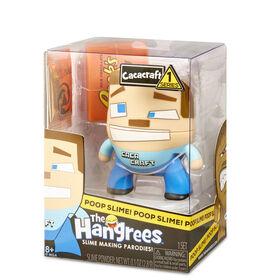 Figurine Parodie The Hangrees Cacacraft à collectionner avec gelée