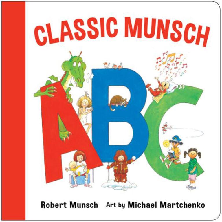 Classic Munch ABC - English Edition
