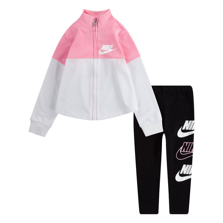 Nike Tricot Legging set Black, Size 2T
