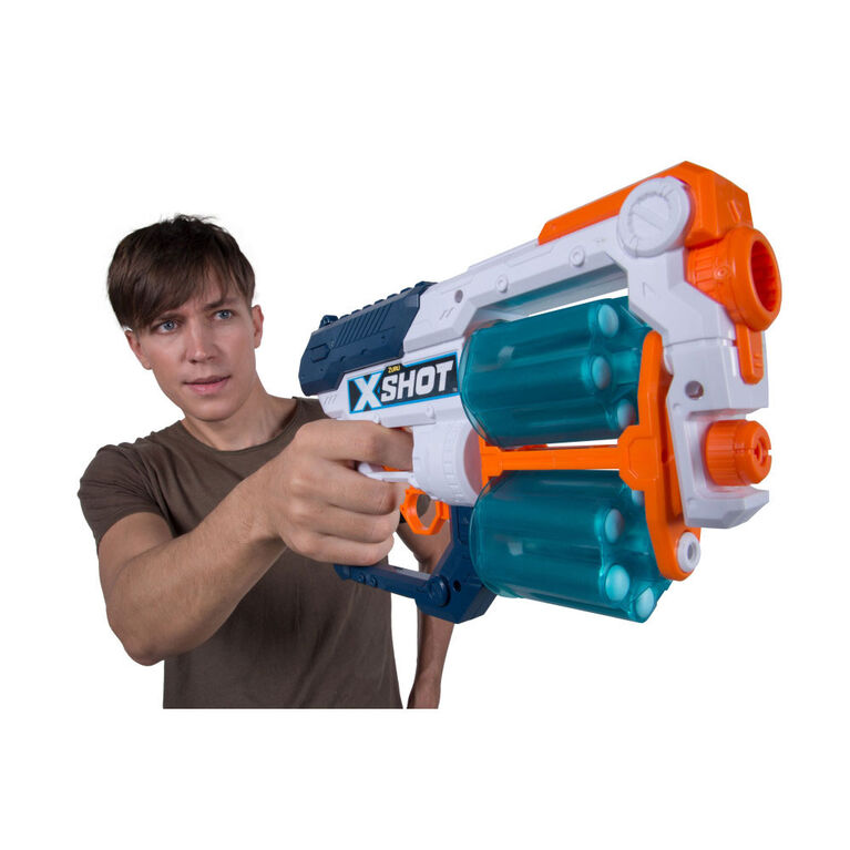 X-Shot Excel Double Xcess Foam Dart Blaster Combo Pack