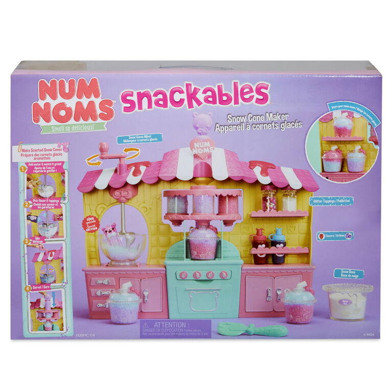 Num Noms Snackables Snow Cone Maker Playset