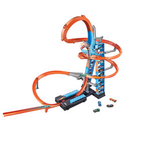 Hot Wheels Sky Crash Tower Track Set