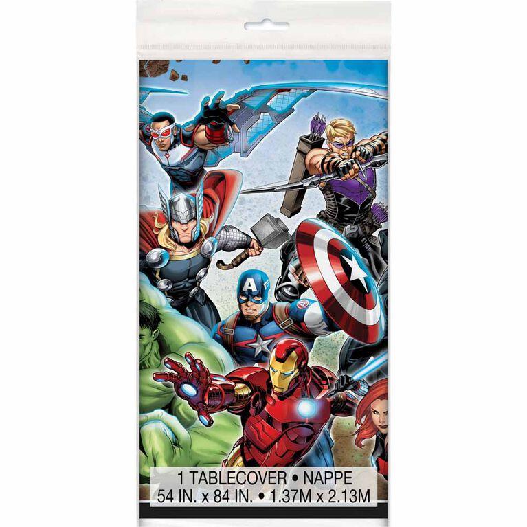 """Avengers Nappe en Plastique 54"""" x 84"""""""