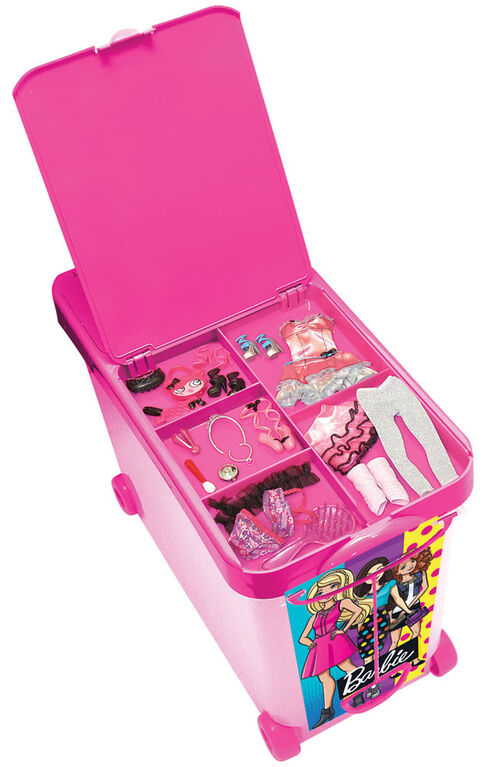 Barbie Store It All Rolling Bin - English Edition