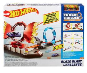 Hot Wheels - Track Builder - Épreuve de cascades explosives. - Notre Exclusivité