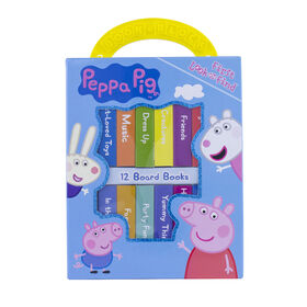 My First Library Board Book Block 12-Book Set Peppa Pig - Édition anglaise