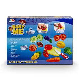 Busy Me Slice & Play Veggie Set