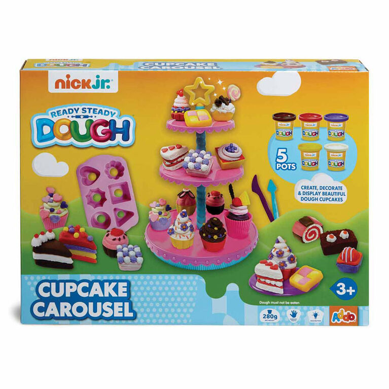 Nick Jr Ready Steady Dough Cupcake Carousel
