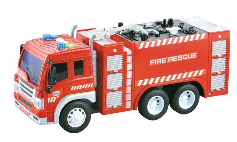 City Service: Fire Truck: Pumper Truck.
