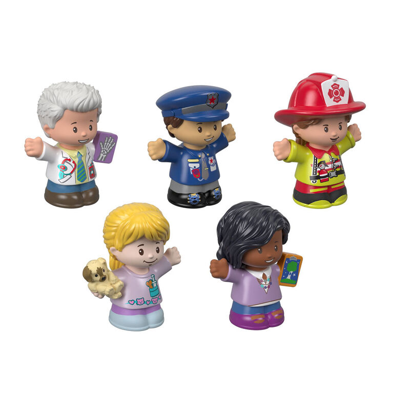 Fisher-Price Little People Community Helpers Figure Pack