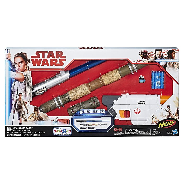 Star Wars Nerf Rey Starkiller Base Mission Pack - R Exclusive
