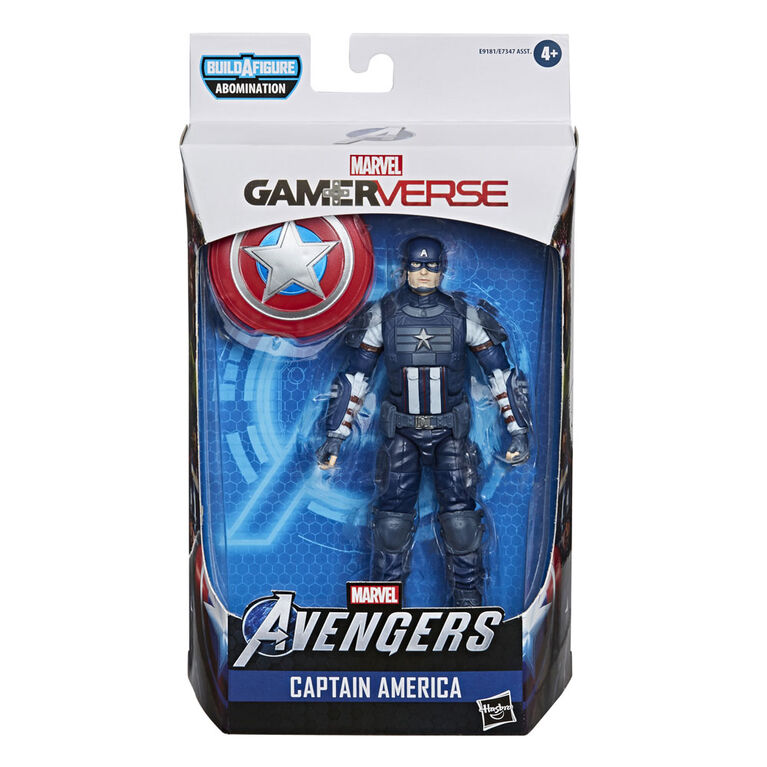Marvel Legends Series Gamerverse Captain America Action Figure