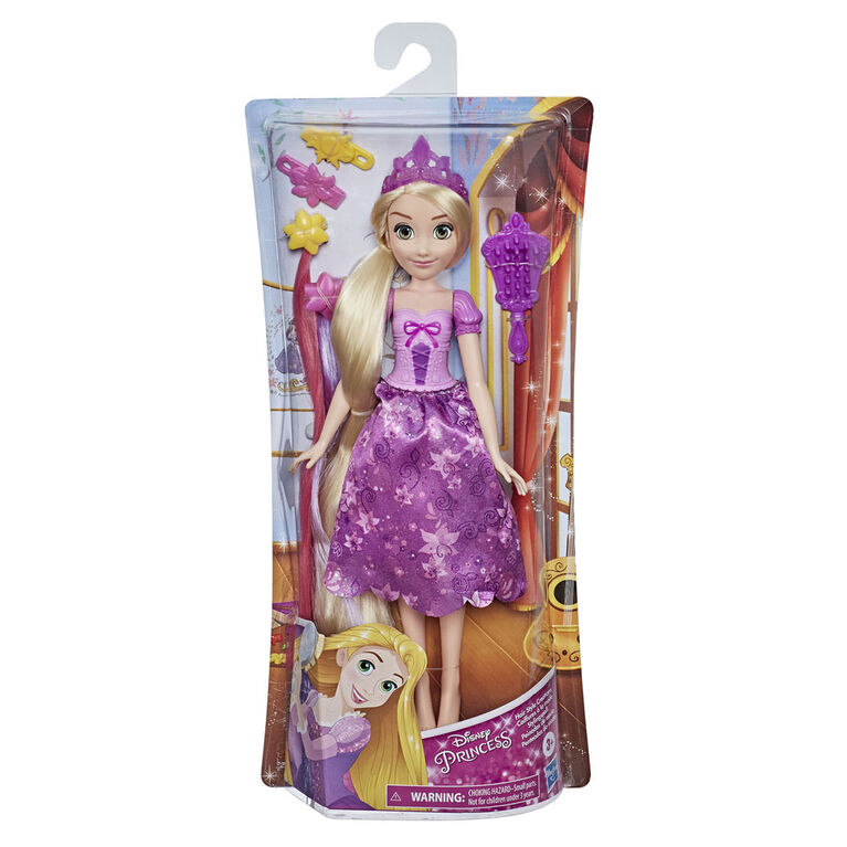 Disney Princess Hair Style Creations Rapunzel Fashion Doll