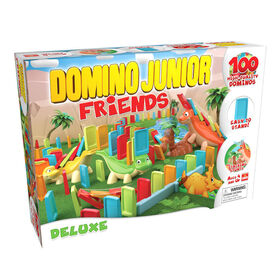 Pressman Toys: Domino Junior Friends - Deluxe - English Edition