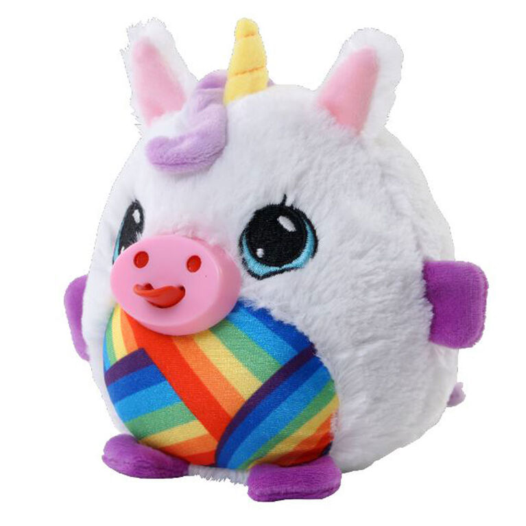 Peluches Mushabelly (couineurs) - Licorne blanche