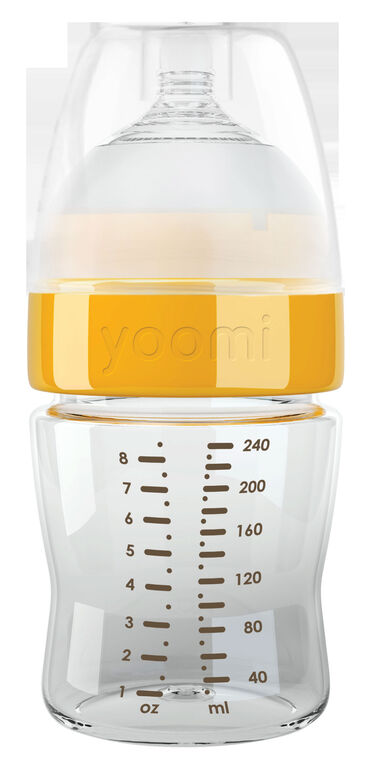 yoomi - 8oz Bouteille de loquet Facile.