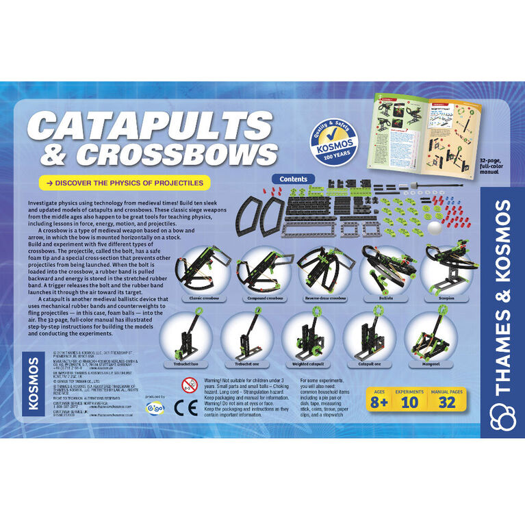 Catapults & Crossbows - English Edition