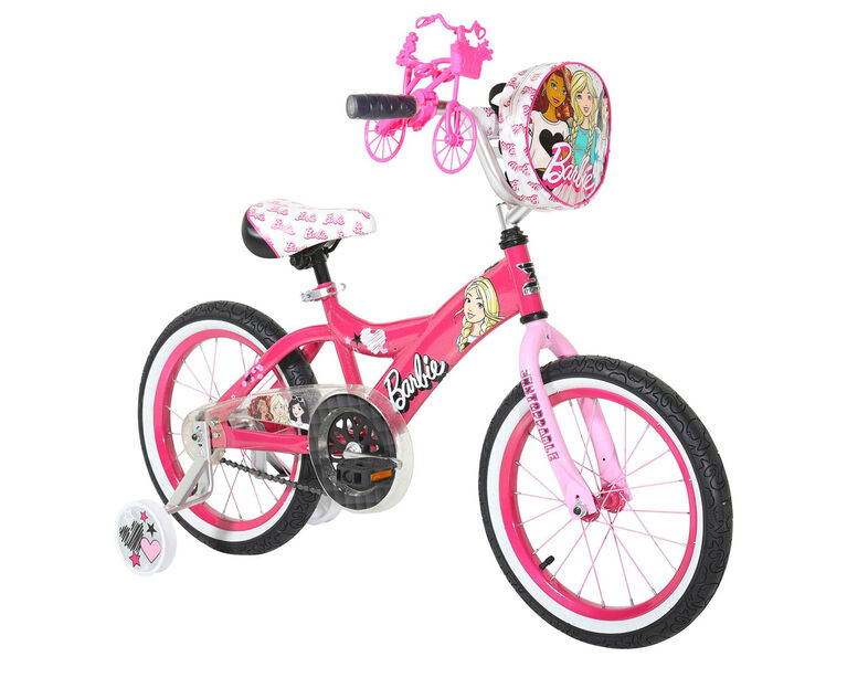 Dynacraft - Bicyclette Barbie de 16 po (40,64 cm) - Notre exclusivité