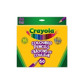 Crayola Coloured Pencils, 60 Ct