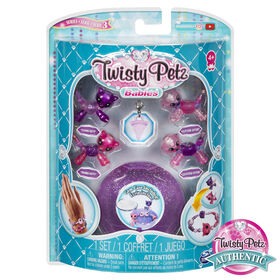 Twisty Petz, Series 3 Babies 4-Pack, Kitties and Otters Collectible Bracelet Set and Case