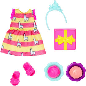 Barbie Club Chelsea Accessory Pack, Birthday Party Theme