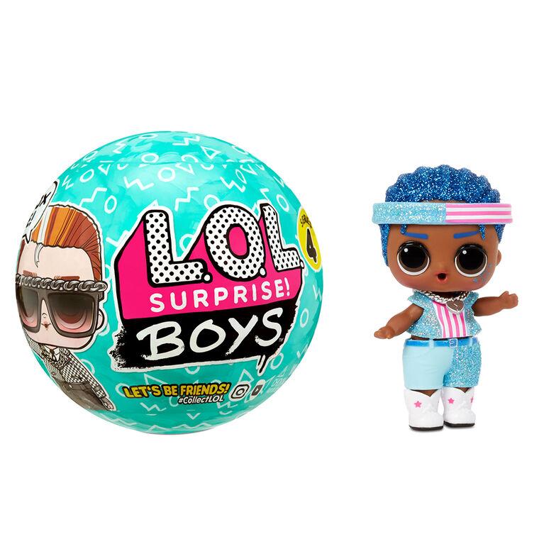Poupées garçons LOL Surprise Boys de la série 4 avec 7 surprises, accessoires, poupées surprises